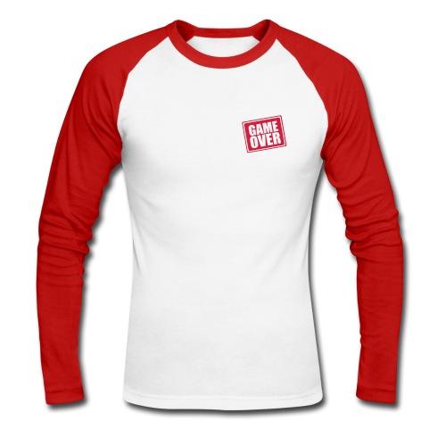 game over 2 - Men's Long Sleeve Baseball T-Shirt