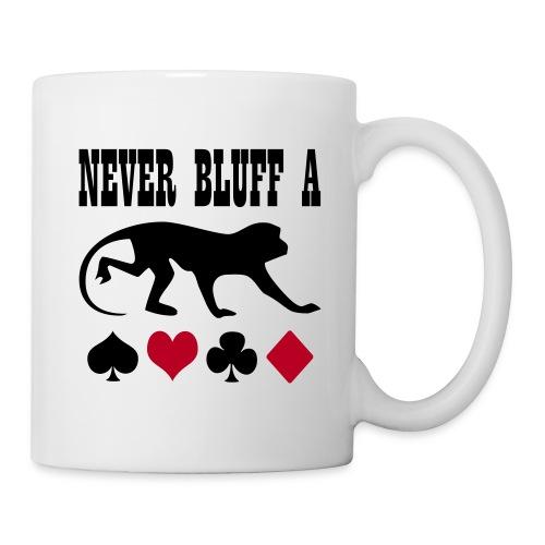 Poker Bluff Monky - Tasse