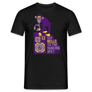 Dancing ape - Mannen T-shirt