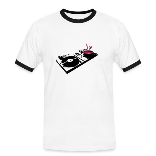 Turntables - Men's Ringer Shirt