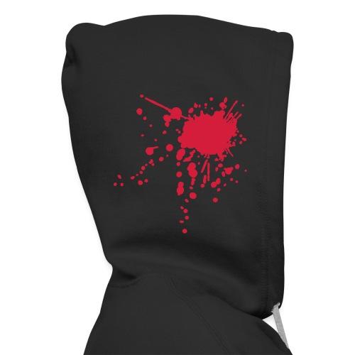 Hooded Jacket-Ive Battered Westwood White Text - Men's Premium Hooded Jacket
