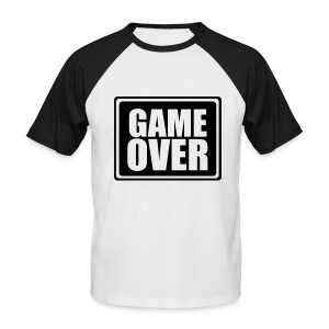 GameOver - Miesten lyhythihainen baseballpaita