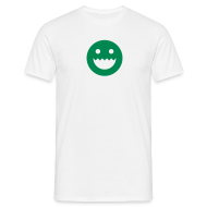 T-Shirts ~ Men's T-Shirt ~  LOGO - WHITE