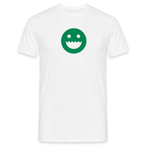 LOGO - WHITE - Men's T-Shirt