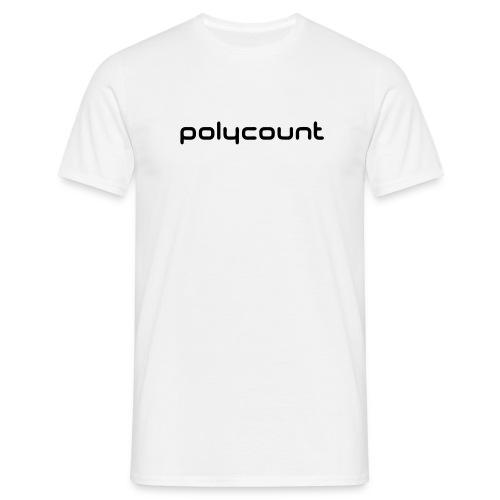 LOGOTYPE - WHITE - Men's T-Shirt