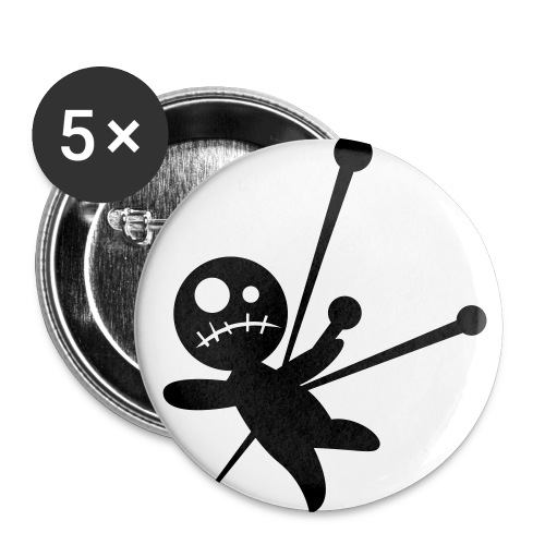 MoshCrew - Button - Buttons groß 56 mm (5er Pack)
