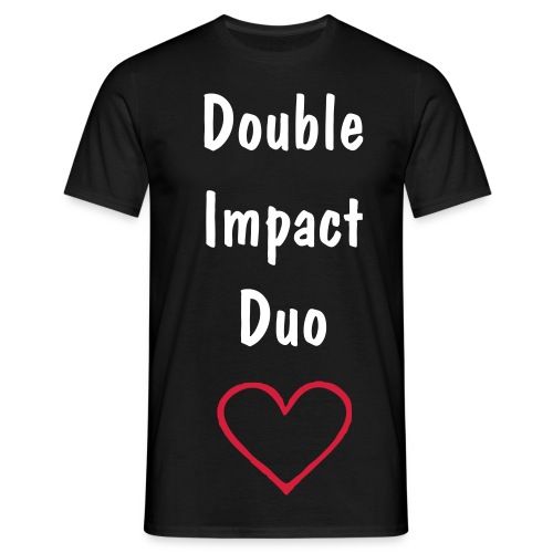 Double Impact  - Men's T-Shirt