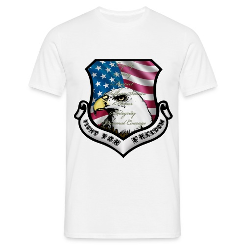 écusson usa - T-shirt Homme