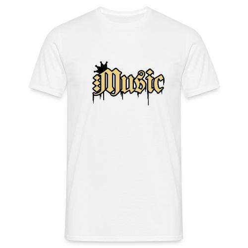 music  - Mannen T-shirt