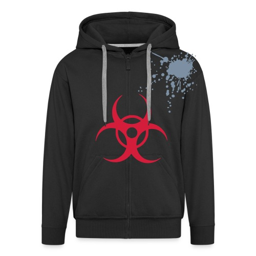 Goth/Punk Decent Hood - Men's Premium Hooded Jacket