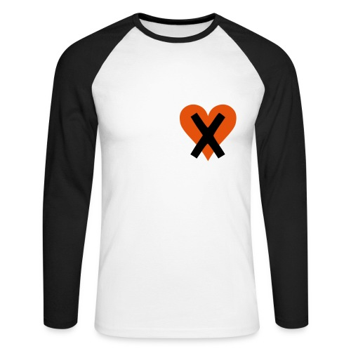 Missing my heart (Mens) - Men's Long Sleeve Baseball T-Shirt