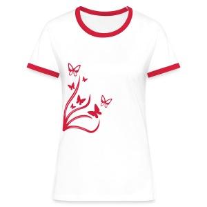 Butterflies - Women's Ringer T-Shirt