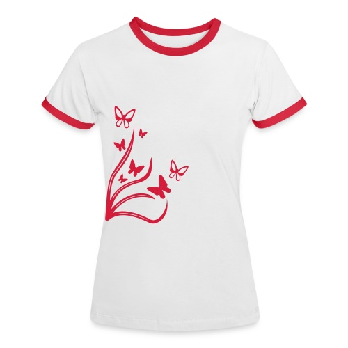 Butterflies - Women's Ringer T-Shirt