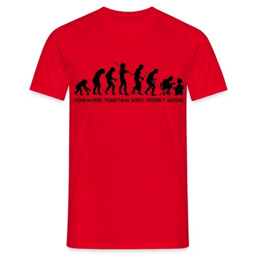 Evolution. - Men's T-Shirt