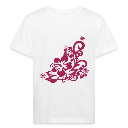 T-s enfant fleurs - T-shirt bio Enfant