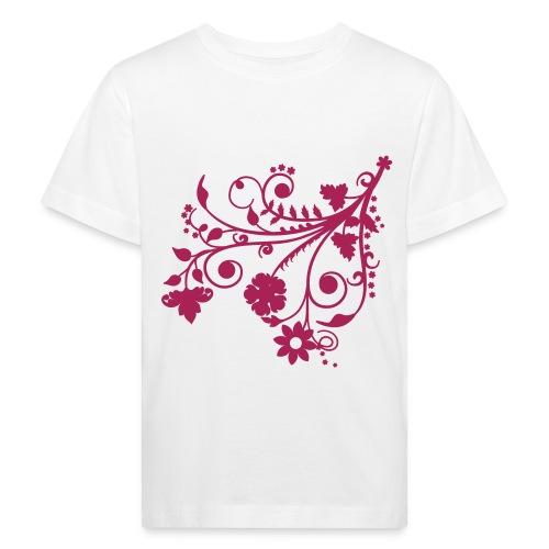 T-s enfant fleurs 2 - T-shirt bio Enfant