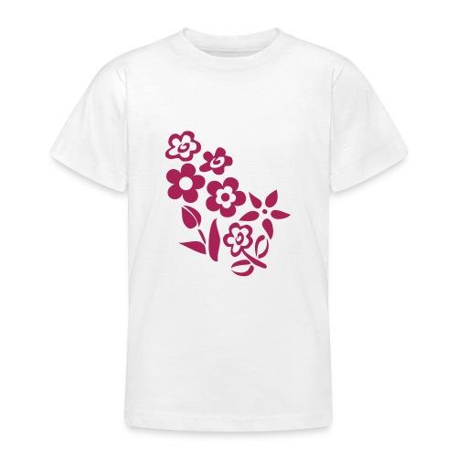 T-s enfant fleurs 3 - T-shirt Ado