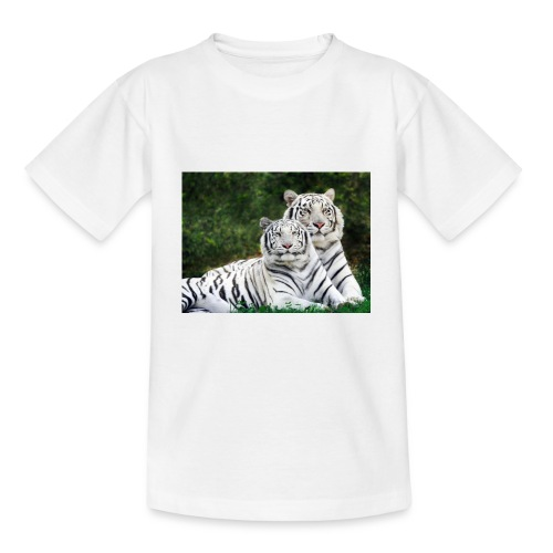 T-s enfant tigres de birmanie  - T-shirt Ado