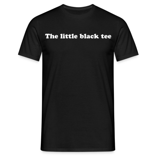 The Black tee - Camiseta hombre