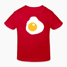 Red Fried Egg Kid's Shirts