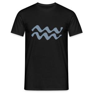 AQUARIUS @zodiactshirts.com - Men's T-Shirt