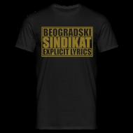 Tee shirts ~ Tee shirt Homme ~ Majica Beogradski Sindikat