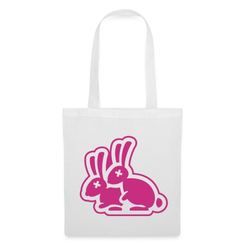 White Rabbit Hump Tote Bag - Tote Bag