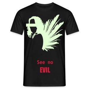 See no EVIL by BLOODmoon - Men's T-Shirt