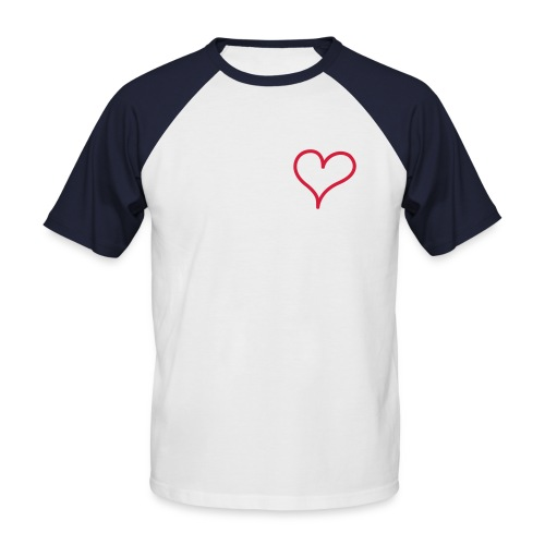 I love Dingden - Männer Baseball-T-Shirt