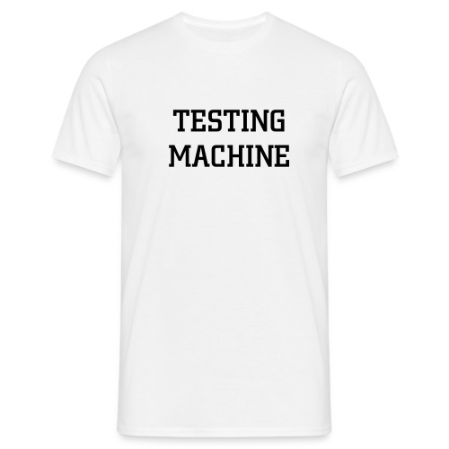 Testing machine - T-shirt Homme