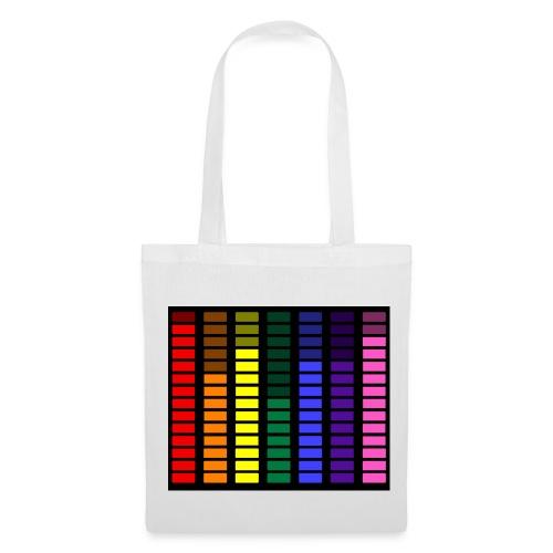 Rainbow Equalizer  - Tote Bag