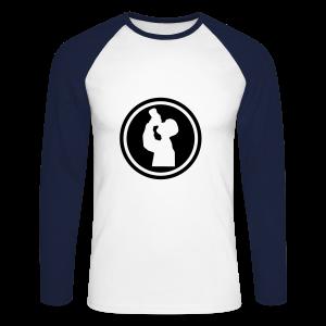 I drink - Men's Long Sleeve Baseball T-Shirt