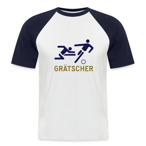 Grätscher - Männer Baseball-T-Shirt