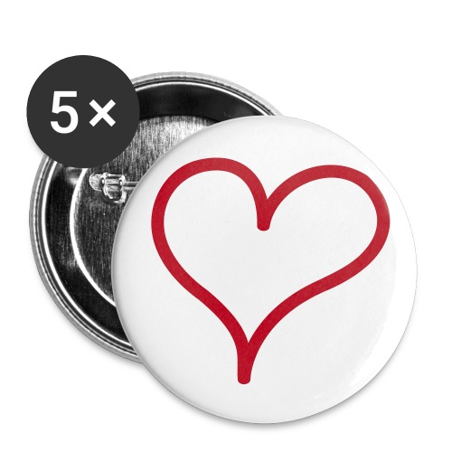 Badge 32mm lover - Badge moyen 32 mm