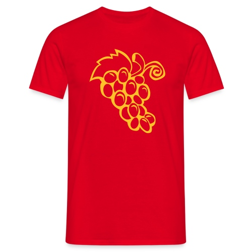 Bunch Grapes - Men's T-Shirt
