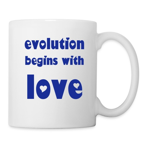 evolution mug (royal blue) - Mug