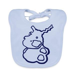Baby Hippo - Bio-slabbetje voor baby's