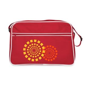 Tasche Kreise - Retro Tasche