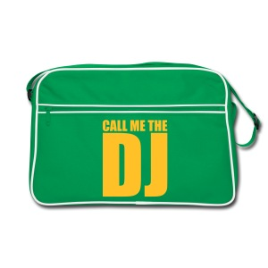Tasche Retro Call me the dj - Retro Tasche