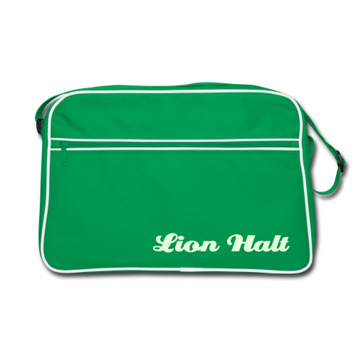 Lion Halt glow in the dark bag (Green) - Retro Bag