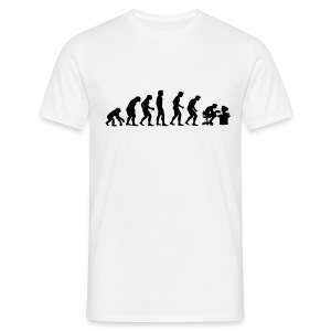 Evolution Of Dave - Men's T-Shirt