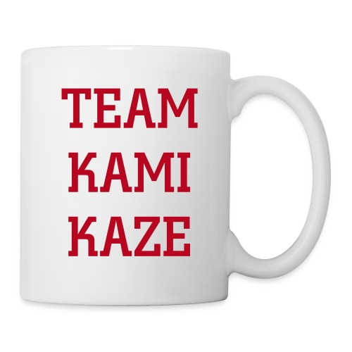 The Kamikaze's Team Official Mug - Mug blanc