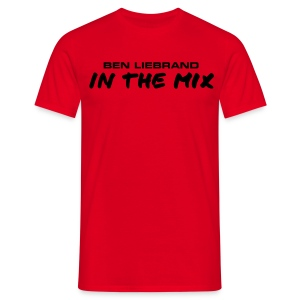 T-shirt in all colors In The Mix black - Mannen T-shirt