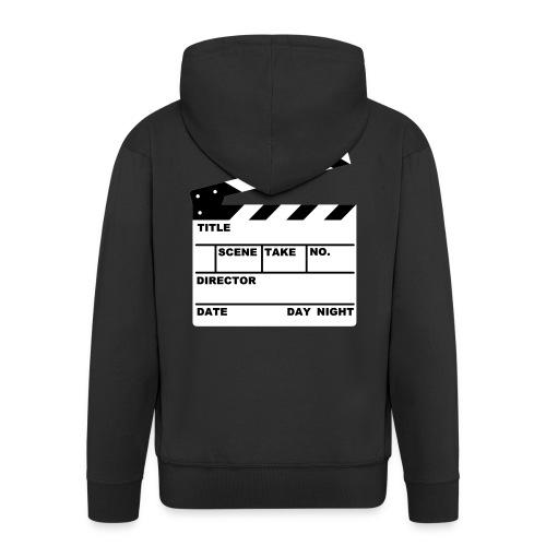 Film director hoodie - Men's Premium Hooded Jacket