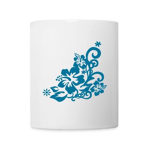 Hibiscus - Mug blanc