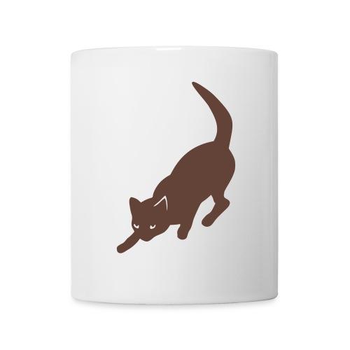 Chat - Mug blanc