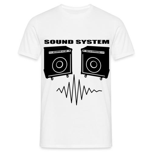 music speakers - Men's T-Shirt