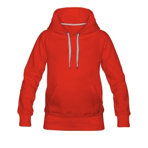 ladies hooded sweatshirt - Women's Premium Hoodie