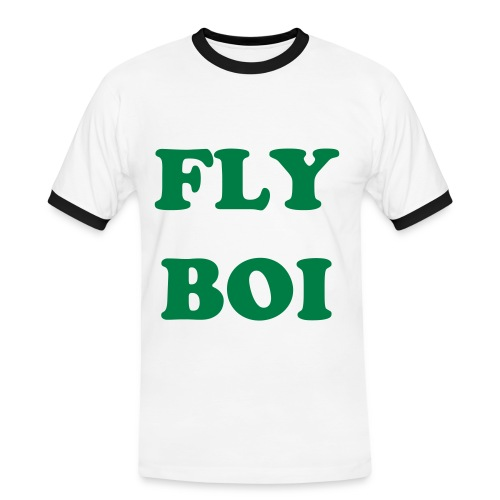 FLY BOI GREEN - Men's Ringer Shirt