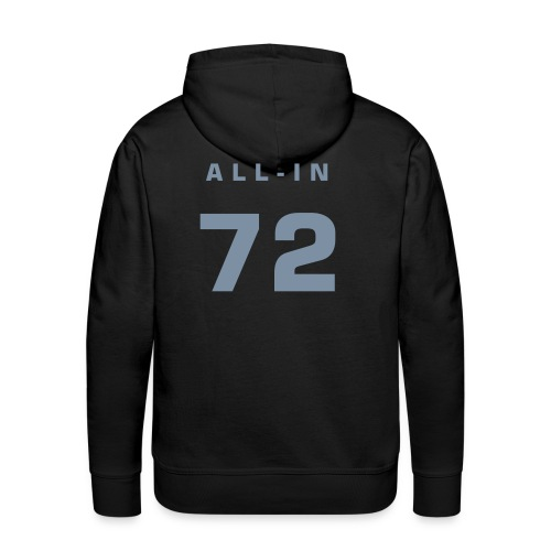 all-in 72 - Miesten premium-huppari